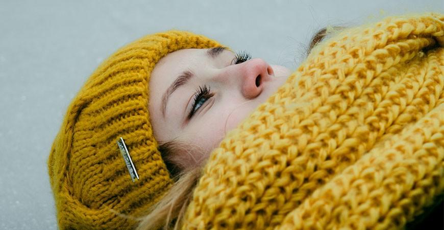 Πλεκτά αξεσουάρ για το χειμώνα
